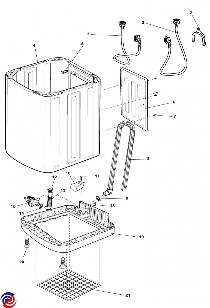 913041112 00 Wholesale Appliance Supplies Simpson Washing Machine Wiring Diagram Parts For Swt5541