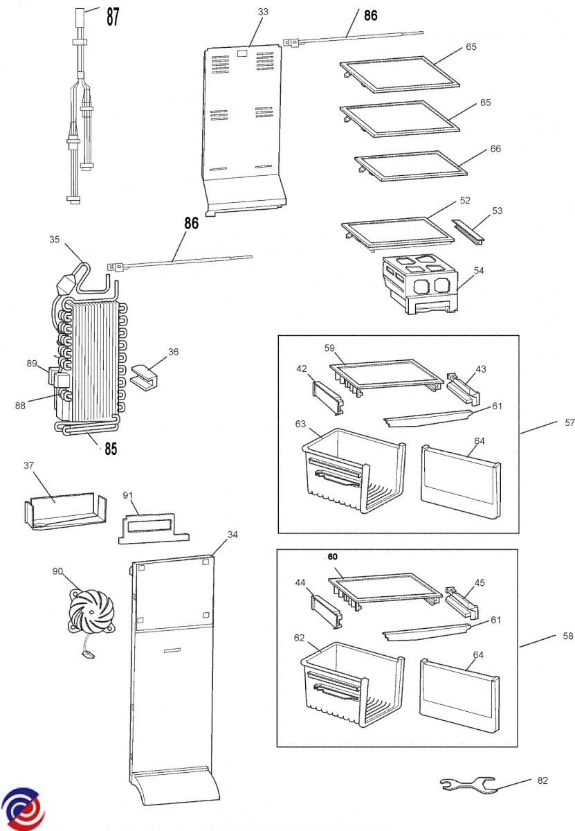 Whirlpool Freezer Wiring Diagram